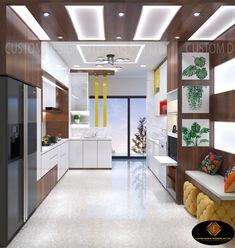 Commercial Interior Design, Best Interior Design, Interior Design Studio, Interior Design Kitchen, Design Interiors, Interior Designing, Modern Kitchen Tiles, Kitchen Layout, Kitchen Ideas