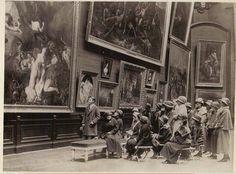 le musée du Louvre 1923