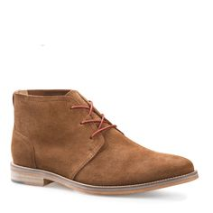 ARCHIE 2 MID TAN SUEDE DRESS CHUKKA