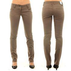Pantalon Vero Moda Wario Marron