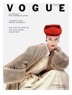 Vogue Cover - November 1951  Clifford Coffin