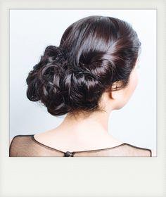 Elegant Twisted Roll Hair Tutorial