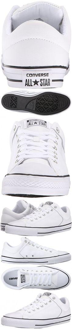 a39b9676440212 Converse Men s Street Leather Low Top Shoe