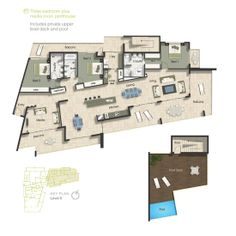 pent house Floor Plans | Penthouse Floor Plans | Penthouses in Minneapolis