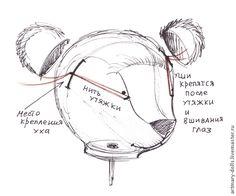 """Создаем мишку Мимозу """"с нуля"""": образ, выкройка, одежда, материалы и другое - Ярмарка Мастеров - ручная работа, handmade"""