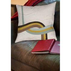 Thumbprintz Tangle Viiii Indoor Pillow, Beige