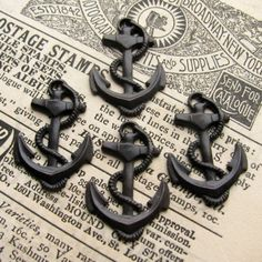 fouled anchors... I'm getting to be obsessed with anchors!!