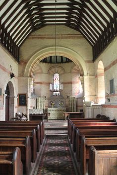 Interior, St James' Church, Rigsby