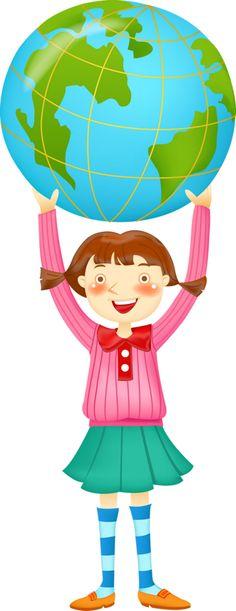 ESCOLA & FORMATURA I School, Back To School, Science Fair Projects, Cartoon Kids, Earth Day, Art Activities, Clip Art, Classroom, Kindergarten