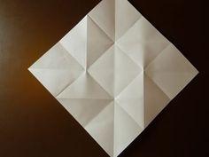 Beautiful Origami Envelope - Folding Instructions and Video, Mini Origami, Origami Simple, Origami Love Heart, Origami Star Box, Origami Envelope, Origami Fish, Origami Dragon, Origami Stars, Origami Design
