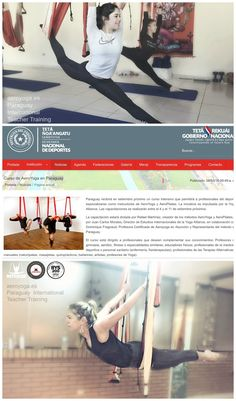 yogacreativo.com: AeroYoga® International con la Secretaria Nacional de Deportes de Paraguay