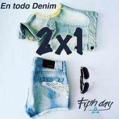 2x1  chicas estamos en 2x1 en todo Denim!! Encuéntranos en @veramossboutique - dirección en el bio. #fifthday #denim #promocion #jeans #igersperu #igerslima #alwayssummer