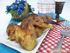 Жареные куриные крылышки с карри. Шаг 7.
