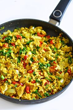 The Life of a Vegan Tofu Scramble, Paella, Vegan Recipes, Ethnic Recipes, Food, Vegane Rezepte, Essen, Meals, Yemek