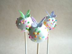 Cupcake and Sons: Butterfly cake-pops