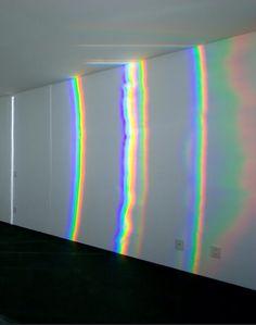 Olafur Eliasson instalacion espejo colores reflejo espacio