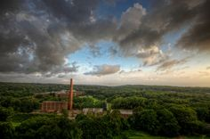 The View from the Top of Building 93 at Kings Park Psychiatric Center