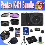 Cheapest Pentax K-01 16MP APS-C CMOS Compact Method Digital camera With 18-55mm and 55-200mm Lens (Black) + Extended Existence Battery + 32GB SDHC Course 10 Memory Card + USB Card Reader + Memory Card Wallet + Deluxe Scenario w/Strap + Shock Evidence Deluxe Scenario + Mini HDMI to HDMI Cable + 3 Piece Specialist Filter Package + Tremendous Broad Angle Lens + 2x Telephoto Lens + Accent Saver Bundle! Compare Rates - http://buyingmanual.com/cheapest-pentax-k-01-16mp-aps-c-cmos-c