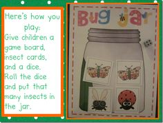 Bug Jar:  Add or Subtract to make the target numbers.