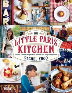 """Capa da edição inglesa de """"A pequena cozinha em Paris""""."""