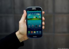 This is the new Samsung Galaxy S3. Imagine if you were allergic to it and all other technology. This is the fate of one man named Phil Inkly. http://cnet.co/MZkIGA
