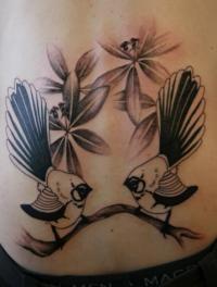 Fly My Pretties Fan gets Tattoo of Fantail Motif - Interview