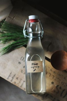Pine Simple Syrup