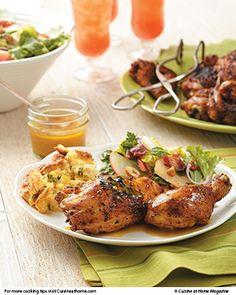 Sweet Tea Brined & Grilled Chicken