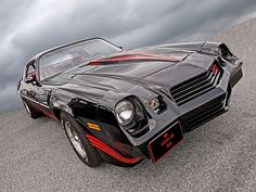 1981 Chevrolet Camaro Z28, a great American muscle car of the eighties. #musclecars #americanmuscle #coolcars