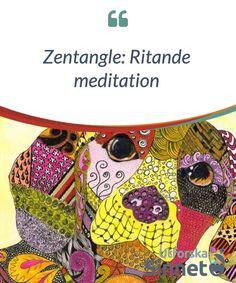 Zentangle: Ritande meditation.  Zentangle är en #ritmetod som involverar #geometrisk #repetition. Målet är att främja ett lugn samt #meditation genom strukturerade #mönster som skapar vackra #bilder.