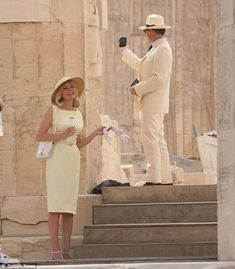 The Two Faces of January filmed at the Parthenon