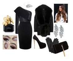 """""""Madame."""" by alice-vvs on Polyvore featuring Alexander McQueen, Balmain, Giuseppe Zanotti, Kenneth Jay Lane, Yves Saint Laurent, Marc Jacobs and Bling Jewelry"""
