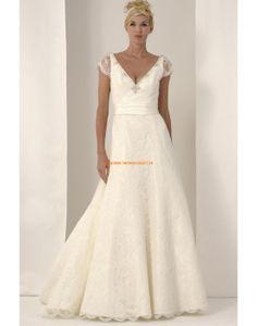 Augusta Jones 2013 Elegante Schicke Hochzeitskleider aus Spitze