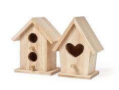 VBS Deko-Vogelhäuser Minis, 2er-Set, Rohholz: Amazon.de: Spielzeug