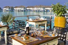 Centara Grand Island Resort & Spa Maldives takes away the 2014 Travellers' Choice award for Top All-Inclusive Resort - Maldives Holiday Tour