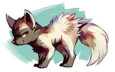 I named my first Poochyena Cujo. Dark Type Pokemon, Mega Pokemon, Pokemon Fan Art, Cute Pokemon, Pokemon Stuff, Pokemon Special, The Draw, Pokemon Pictures, Anime