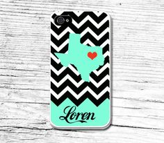 Personalized state iPhone 6 CaseCustom name iPhone by Caseby