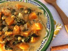 Curry de butternut et épinards • Hellocoton.fr