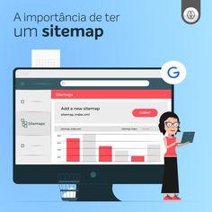 Saiba o que é o sitemap.XML e a sua importância no âmbito da visibilidade do seu site nas pesquisas dos motores de busca como o Google. Sitemap, Google, Digital Strategy, Motors