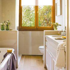 Ideas para tener más espacio en el baño