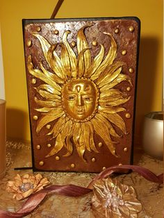 Angiscreativworkshop Notebooks, Sunshine, Decorative Boxes, Etsy, Vintage, Painting, Home Decor, Art, Craft Gifts