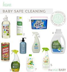 Baby Safe Cleaning Products .
