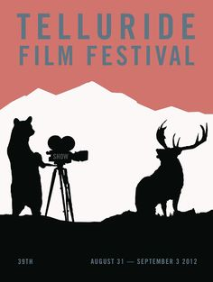 Poster for the 39th Telluride Film Festival.