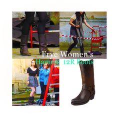 Katie McGrath - Frye Women's Harness 12R Boots