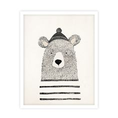 Winter Bear Print