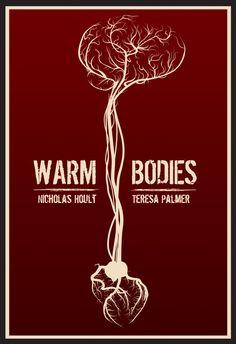 Minimalist Movie Poster: Warm Bodies by Ryan Huddle