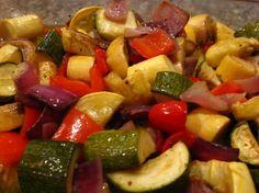 Smoked Vegetables!  #redpotatoes #zucchini #redonion