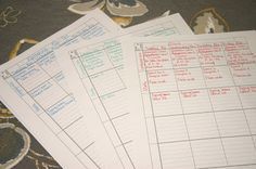 Maple Cottage Classical School: Organizing Your Homeschool Year-- Lesson plans