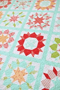 Swoon Sixteen quilt pattern by Camille Roskelley (Thimble Blossoms)