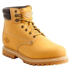 f1b9598a1a4e Dickies® Men s Raider Leather Steel Toe Work Boots - Wheat
